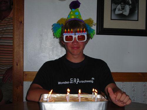 Antons Geburtstag in den USA