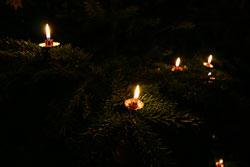 Weihnachten 2006 - Kerzen