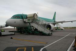 Abflug aus Irland (Cork)