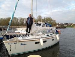 Unser Boot und ich in Rechlin