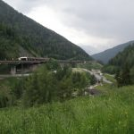 Brennerabwärts nach Sterzing